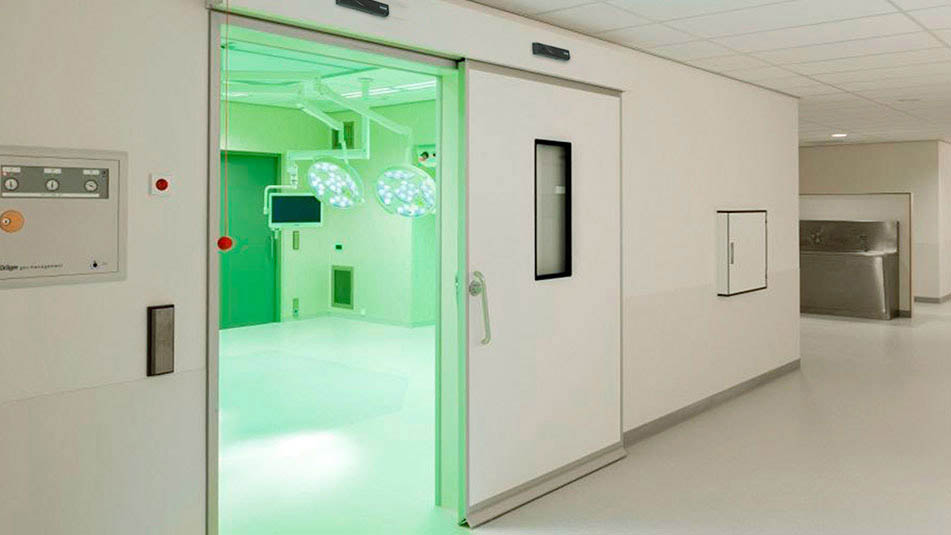 Safety sensors make KONE hermetic doors a safe solution for various environments.
